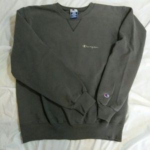 Vintage Worn Grey Champion Sweatshirt